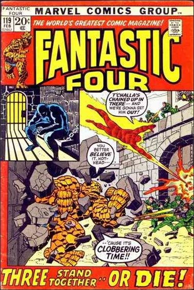 Fantastic Four (1961) 119-A by Marvel