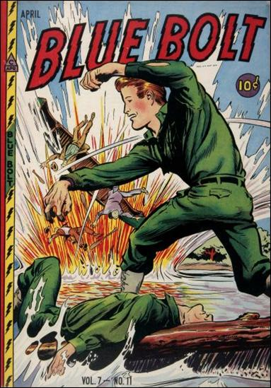 Blue Bolt (1946) 11-A by Novelty Press