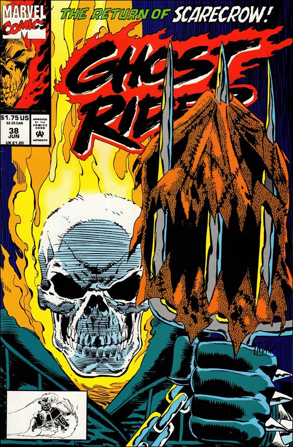 Ghost Rider (1990) 38-A by Marvel
