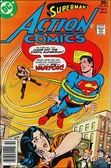 Action Comics (1938) 476-A by DC