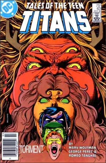 Tales of the Teen Titans 63-A by DC