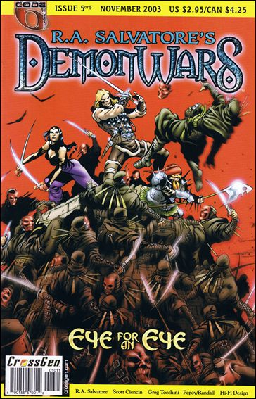 R.A. Salvatore's DemonWars: Eye for an Eye 5-A by CrossGen