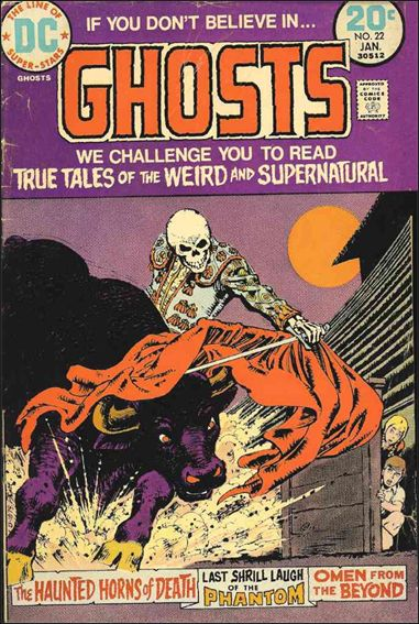 Ghosts (1971) 22-A by DC