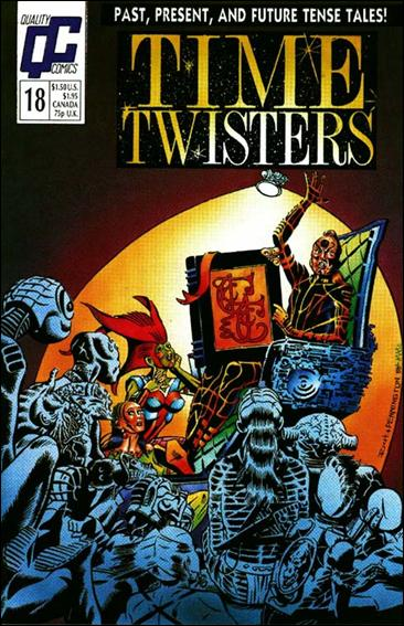 Time Twisters 18-A by Quality Comics
