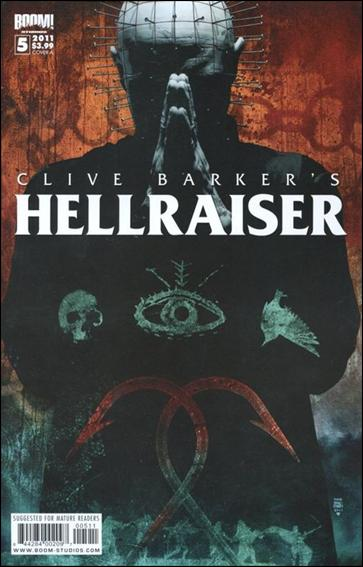 Clive Barker's Hellraiser (2011) 5-A by Boom! Studios