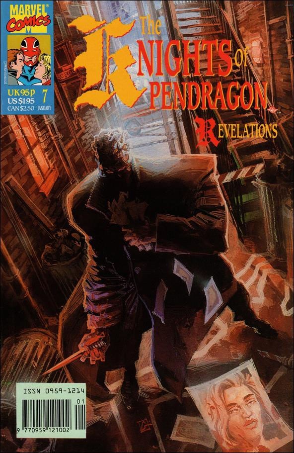 Knights of Pendragon (UK) (1990) 7-A by Marvel UK