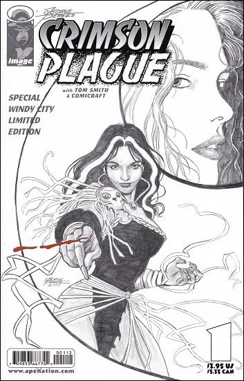 George Perez's Crimson Plague 1-B by Image