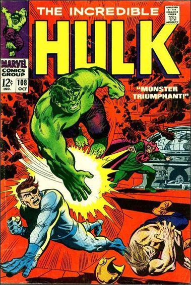Incredible Hulk (1968) 108-A by Marvel
