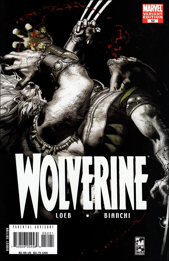 Wolverine (2003)  52-B by Marvel