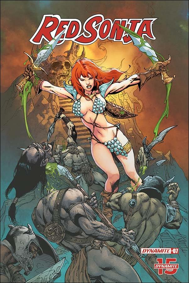 Red Sonja (2019) 7-F by Dynamite Entertainment