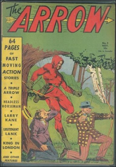 Arrow (1940) 2-A by Centaur Publications Inc.