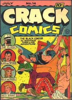 Crack Comics 14-A by Quality