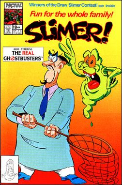 Slimer! 19-A by Now Comics
