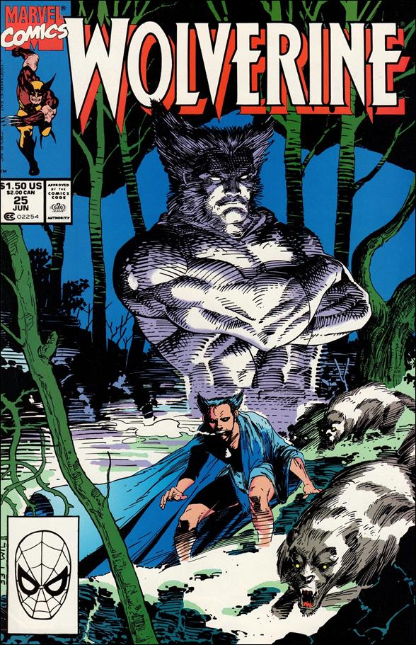 Wolverine (1988)  25-A by Marvel