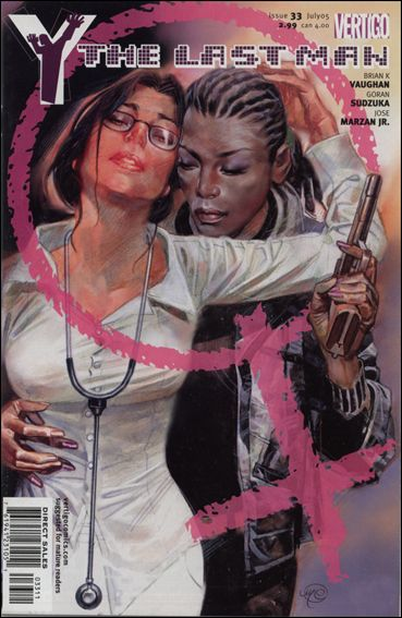 Y: The Last Man 33-A by Vertigo