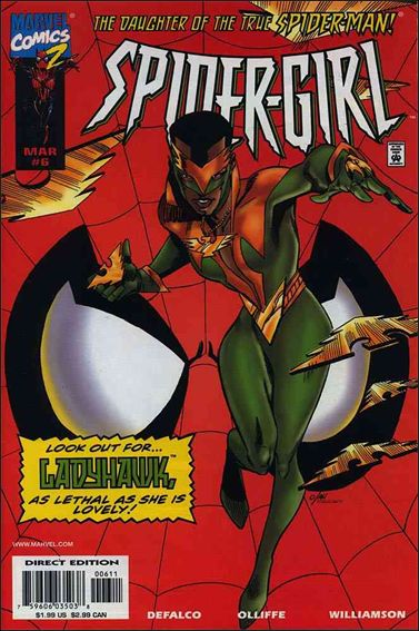 Spider-Girl (1998) 6-A by Marvel