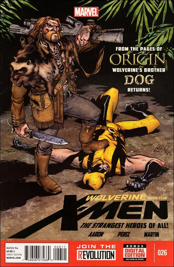Wolverine & the X-Men 26-A by Marvel