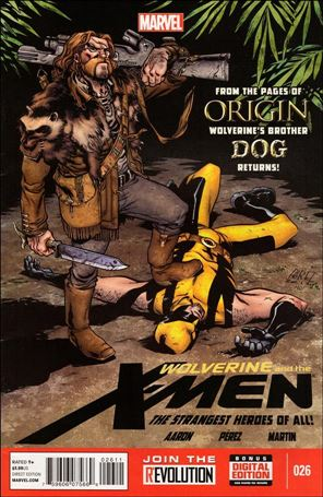 Wolverine & the X-Men (2011) 26-A