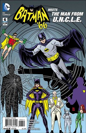 Batman '66 Meets The Man from U.N.C.L.E. 6-A