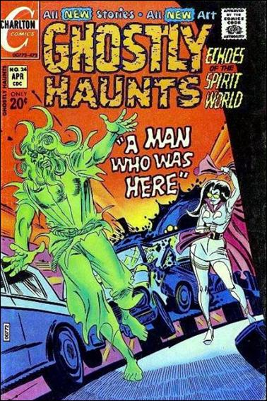 Ghostly Haunts 24-A by Charlton