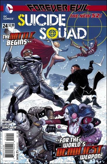 Suicide Squad (2011) 24-A by DC