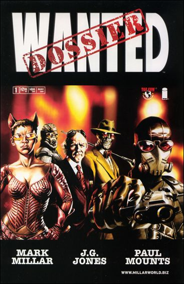 Wanted Dossier 1-A by Top Cow