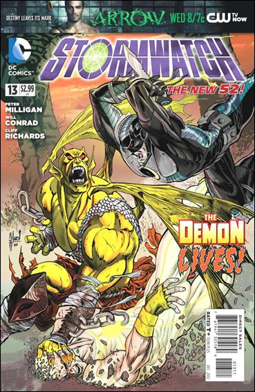 StormWatch (2011) 13-A by DC