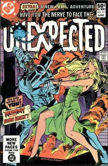 Unexpected (1968) 211-A by DC
