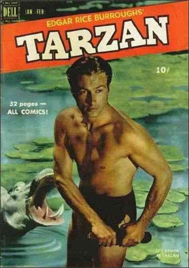 Tarzan (1948) 19-A by Dell
