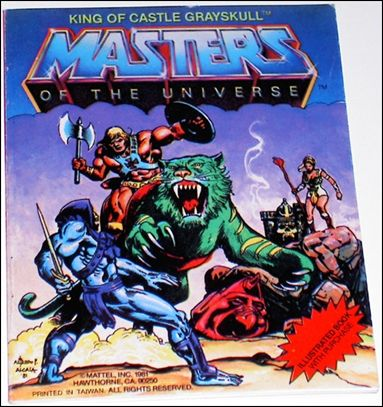 Masters of the Universe (1981) 1.4-C by Mattel