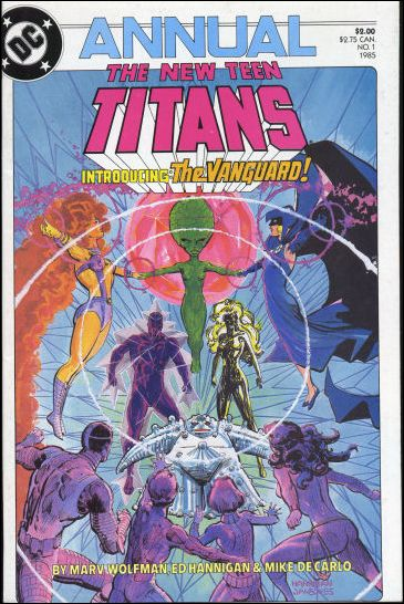 New Teen Titans Annual '1'-A by DC
