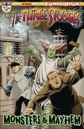Three Stooges Monsters & Mayhem 1-A