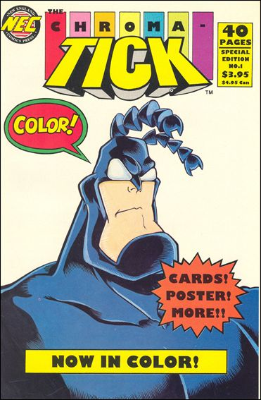 Chroma-Tick 1-A by New England Comics Press (NEC / NECP)