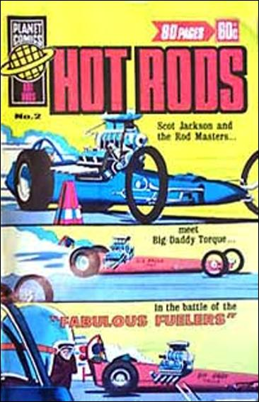 Hot Rods (Australia) 2-A by Planet Comics