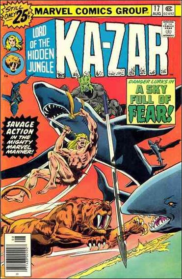 Ka-Zar (1974) 17-A by Marvel