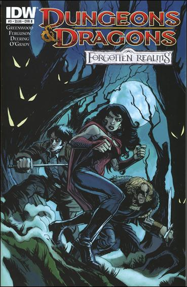Dungeons & Dragons: Forgotten Realms 3-B by IDW