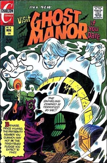 Ghost Manor (1971) 8-A by Charlton