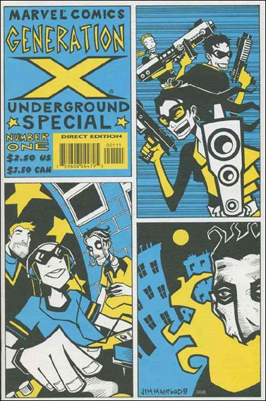 Generation X Underground 1-A by Marvel