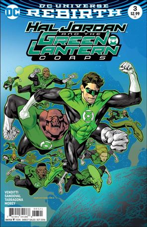 Hal Jordan and the Green Lantern Corps 3-B
