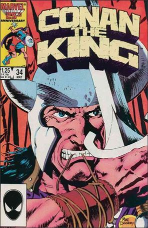 Conan the King 34-A