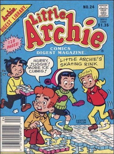Little Archie Comics Digest Magazine 24-A by Archie