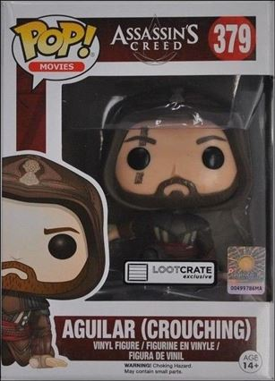 POP! Movies Aguilar (Crouching) Loot Crate Exclusive