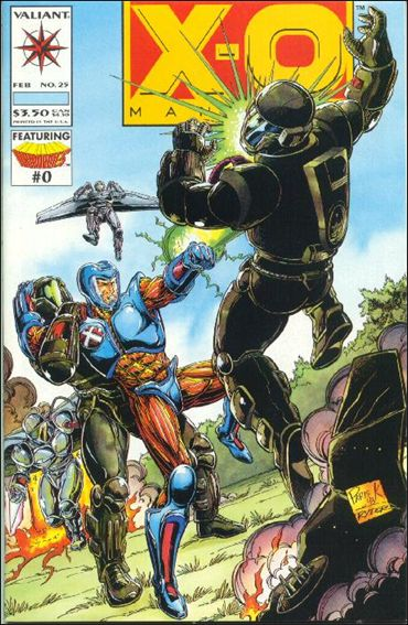 X-O Manowar (1992) 25-A by Valiant