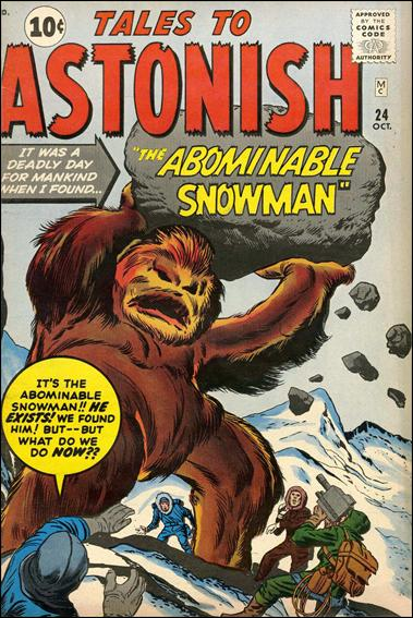 Tales to Astonish (1959) 24-A by Marvel