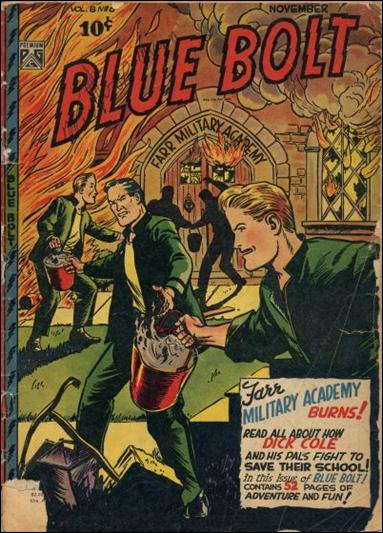 Blue Bolt (1947) 6-A by Premium