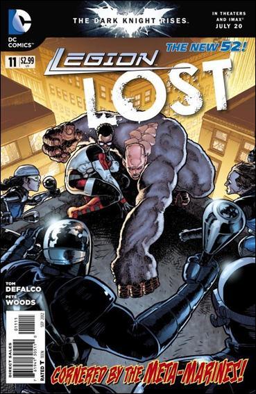 Legion Lost (2011) 11-A by DC
