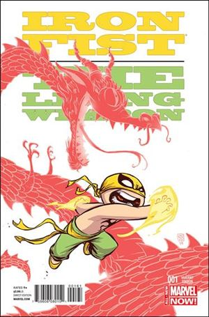 Iron Fist: The Living Weapon 1-D