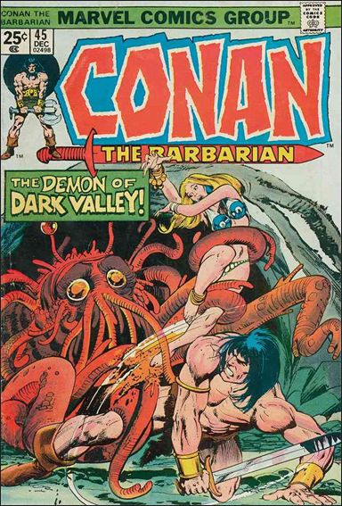 Conan the Barbarian (1970) 45-A by Marvel