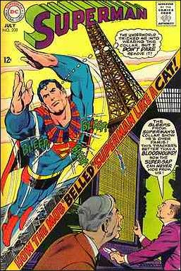 Superman (1939) 208-A by DC