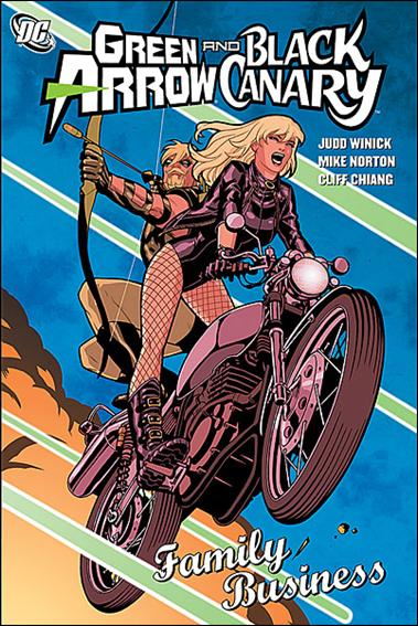 Green Arrow/Black Canary: Family Business 1-A by DC